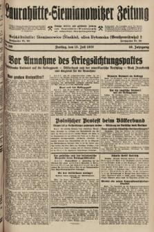Laurahütte-Siemianowitzer Zeitung : enzige älteste und gelesenste Zeitung von Laurahütte-Siemianowitz mit wöchentlicher Unterhaitungsbeilage. 1928, nr110