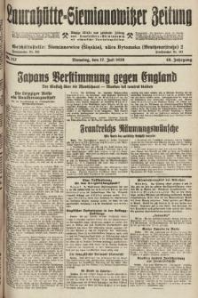 Laurahütte-Siemianowitzer Zeitung : enzige älteste und gelesenste Zeitung von Laurahütte-Siemianowitz mit wöchentlicher Unterhaitungsbeilage. 1928, nr112