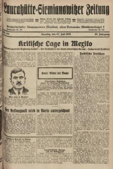 Laurahütte-Siemianowitzer Zeitung : enzige älteste und gelesenste Zeitung von Laurahütte-Siemianowitz mit wöchentlicher Unterhaitungsbeilage. 1928, nr115