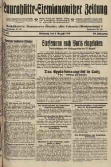 Laurahütte-Siemianowitzer Zeitung : enzige älteste und gelesenste Zeitung von Laurahütte-Siemianowitz mit wöchentlicher Unterhaitungsbeilage. 1928, nr121