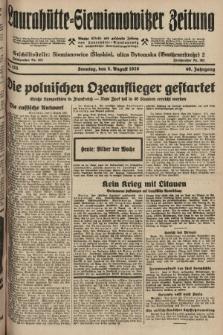 Laurahütte-Siemianowitzer Zeitung : enzige älteste und gelesenste Zeitung von Laurahütte-Siemianowitz mit wöchentlicher Unterhaitungsbeilage. 1928, nr123