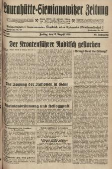 Laurahütte-Siemianowitzer Zeitung : enzige älteste und gelesenste Zeitung von Laurahütte-Siemianowitz mit wöchentlicher Unterhaitungsbeilage. 1928, nr126