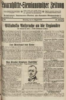 Laurahütte-Siemianowitzer Zeitung : enzige älteste und gelesenste Zeitung von Laurahütte-Siemianowitz mit wöchentlicher Unterhaitungsbeilage. 1928, nr128
