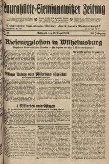 Laurahütte-Siemianowitzer Zeitung : enzige älteste und gelesenste Zeitung von Laurahütte-Siemianowitz mit wöchentlicher Unterhaitungsbeilage. 1928, nr129