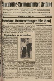 Laurahütte-Siemianowitzer Zeitung : enzige älteste und gelesenste Zeitung von Laurahütte-Siemianowitz mit wöchentlicher Unterhaitungsbeilage. 1928, nr133