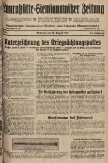 Laurahütte-Siemianowitzer Zeitung : enzige älteste und gelesenste Zeitung von Laurahütte-Siemianowitz mit wöchentlicher Unterhaitungsbeilage. 1928, nr137