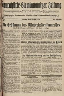 Laurahütte-Siemianowitzer Zeitung : enzige älteste und gelesenste Zeitung von Laurahütte-Siemianowitz mit wöchentlicher Unterhaitungsbeilage. 1928, nr138