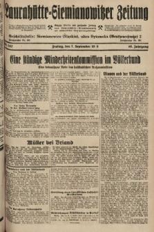 Laurahütte-Siemianowitzer Zeitung : enzige älteste und gelesenste Zeitung von Laurahütte-Siemianowitz mit wöchentlicher Unterhaitungsbeilage. 1928, nr142