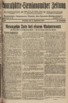 Laurahütte-Siemianowitzer Zeitung : enzige älteste und gelesenste Zeitung von Laurahütte-Siemianowitz mit wöchentlicher Unterhaitungsbeilage. 1928, nr144
