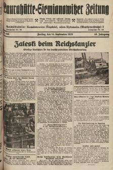 Laurahütte-Siemianowitzer Zeitung : enzige älteste und gelesenste Zeitung von Laurahütte-Siemianowitz mit wöchentlicher Unterhaitungsbeilage. 1928, nr146