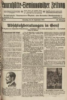 Laurahütte-Siemianowitzer Zeitung : enzige älteste und gelesenste Zeitung von Laurahütte-Siemianowitz mit wöchentlicher Unterhaitungsbeilage. 1928, nr148