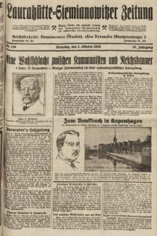 Laurahütte-Siemianowitzer Zeitung : enzige älteste und gelesenste Zeitung von Laurahütte-Siemianowitz mit wöchentlicher Unterhaitungsbeilage. 1928, nr156
