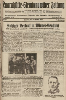 Laurahütte-Siemianowitzer Zeitung : enzige älteste und gelesenste Zeitung von Laurahütte-Siemianowitz mit wöchentlicher Unterhaitungsbeilage. 1928, nr160