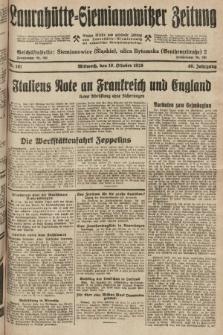 Laurahütte-Siemianowitzer Zeitung : enzige älteste und gelesenste Zeitung von Laurahütte-Siemianowitz mit wöchentlicher Unterhaitungsbeilage. 1928, nr161