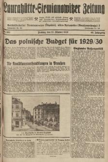 Laurahütte-Siemianowitzer Zeitung : enzige älteste und gelesenste Zeitung von Laurahütte-Siemianowitz mit wöchentlicher Unterhaitungsbeilage. 1928, nr162