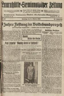 Laurahütte-Siemianowitzer Zeitung : enzige älteste und gelesenste Zeitung von Laurahütte-Siemianowitz mit wöchentlicher Unterhaitungsbeilage. 1928, nr163