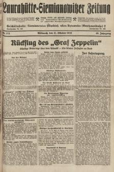 Laurahütte-Siemianowitzer Zeitung : enzige älteste und gelesenste Zeitung von Laurahütte-Siemianowitz mit wöchentlicher Unterhaitungsbeilage. 1928, nr173