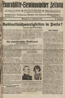 Laurahütte-Siemianowitzer Zeitung : enzige älteste und gelesenste Zeitung von Laurahütte-Siemianowitz mit wöchentlicher Unterhaitungsbeilage. 1928, nr177