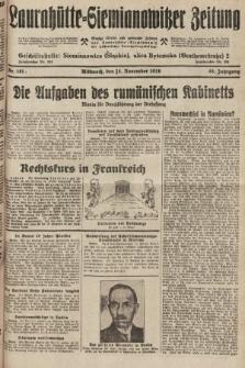 Laurahütte-Siemianowitzer Zeitung : enzige älteste und gelesenste Zeitung von Laurahütte-Siemianowitz mit wöchentlicher Unterhaitungsbeilage. 1928, nr181