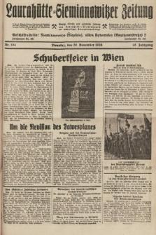 Laurahütte-Siemianowitzer Zeitung : enzige älteste und gelesenste Zeitung von Laurahütte-Siemianowitz mit wöchentlicher Unterhaitungsbeilage. 1928, nr184