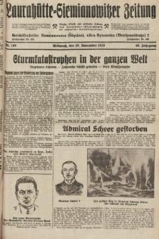 Laurahütte-Siemianowitzer Zeitung : enzige älteste und gelesenste Zeitung von Laurahütte-Siemianowitz mit wöchentlicher Unterhaitungsbeilage. 1928, nr189