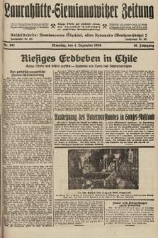 Laurahütte-Siemianowitzer Zeitung : enzige älteste und gelesenste Zeitung von Laurahütte-Siemianowitz mit wöchentlicher Unterhaitungsbeilage. 1928, nr192