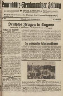 Laurahütte-Siemianowitzer Zeitung : enzige älteste und gelesenste Zeitung von Laurahütte-Siemianowitz mit wöchentlicher Unterhaitungsbeilage. 1928, nr193