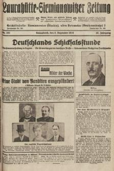 Laurahütte-Siemianowitzer Zeitung : enzige älteste und gelesenste Zeitung von Laurahütte-Siemianowitz mit wöchentlicher Unterhaitungsbeilage. 1928, nr195