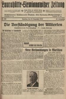 Laurahütte-Siemianowitzer Zeitung : enzige älteste und gelesenste Zeitung von Laurahütte-Siemianowitz mit wöchentlicher Unterhaitungsbeilage. 1928, nr199