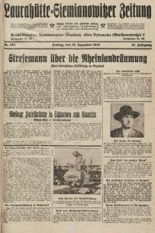 Laurahütte-Siemianowitzer Zeitung : enzige älteste und gelesenste Zeitung von Laurahütte-Siemianowitz mit wöchentlicher Unterhaitungsbeilage. 1928, nr205