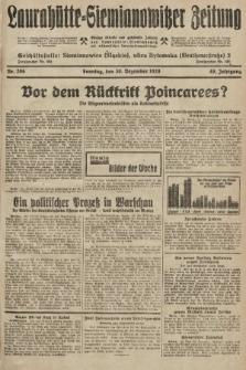 Laurahütte-Siemianowitzer Zeitung : enzige älteste und gelesenste Zeitung von Laurahütte-Siemianowitz mit wöchentlicher Unterhaitungsbeilage. 1928, nr206