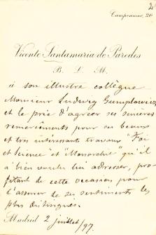 Korespondencja Ludwika Gumplowicza z lat 1870-1909. T. 6