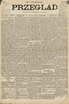 Przegląd polityczny, społeczny i literacki. 1897, nr11