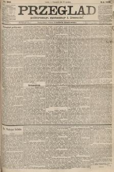 Przegląd polityczny, społeczny i literacki. 1887, nr285