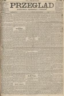 Przegląd polityczny, społeczny i literacki. 1887, nr286