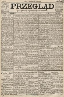 Przegląd polityczny, społeczny i literacki. 1889, nr11