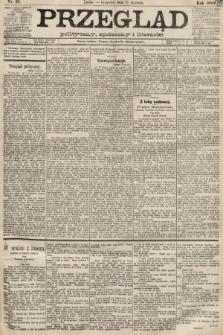 Przegląd polityczny, społeczny i literacki. 1889, nr26