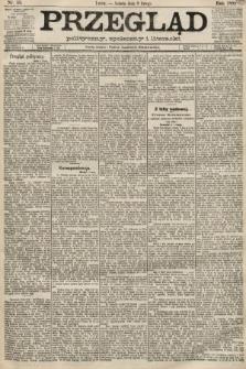 Przegląd polityczny, społeczny i literacki. 1889, nr33