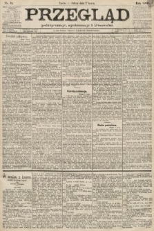 Przegląd polityczny, społeczny i literacki. 1889, nr51