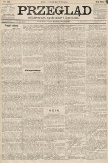 Przegląd polityczny, społeczny i literacki. 1889, nr274