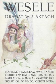 Wesele : dramat w 3 aktach