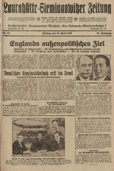 Laurahütte-Siemianowitzer Zeitung : enzige älteste und gelesenste Zeitung von Laurahütte-Siemianowitz mit wöchentlicher Unterhaitungsbeilage. 1931, nr54