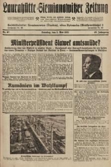 Laurahütte-Siemianowitzer Zeitung : enzige älteste und gelesenste Zeitung von Laurahütte-Siemianowitz mit wöchentlicher Unterhaitungsbeilage. 1931, nr67
