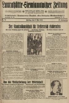 Laurahütte-Siemianowitzer Zeitung : enzige älteste und gelesenste Zeitung von Laurahütte-Siemianowitz mit wöchentlicher Unterhaitungsbeilage. 1931, nr70