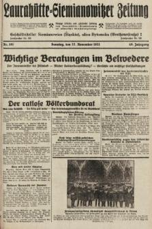 Laurahütte-Siemianowitzer Zeitung : enzige älteste und gelesenste Zeitung von Laurahütte-Siemianowitz mit wöchentlicher Unterhaitungsbeilage. 1931, nr181