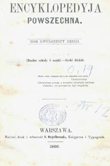 Encyklopedyja Powszechna. T.22