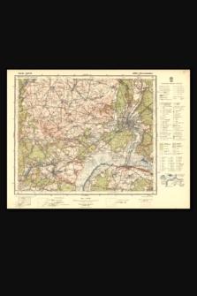 Mapa taktyczna Polski : pas 36, słup 23 : Ujście i Piła (Schneidemühl)