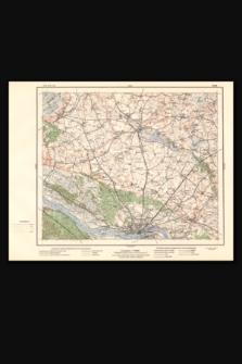 Mapa taktyczna Polski : pas 36, słup 27 : Toruń