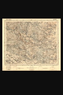 Mapa taktyczna Polski : pas 36, słup 37 : Zabłudów