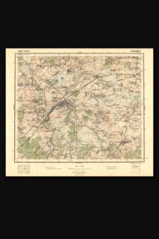 Mapa taktyczna Polski : pas 36, słup 42 : Baranowicze